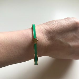 Kate spade Green Bracelet with Gold Accents